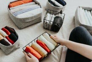 rekje met opgeruimd ondergoed